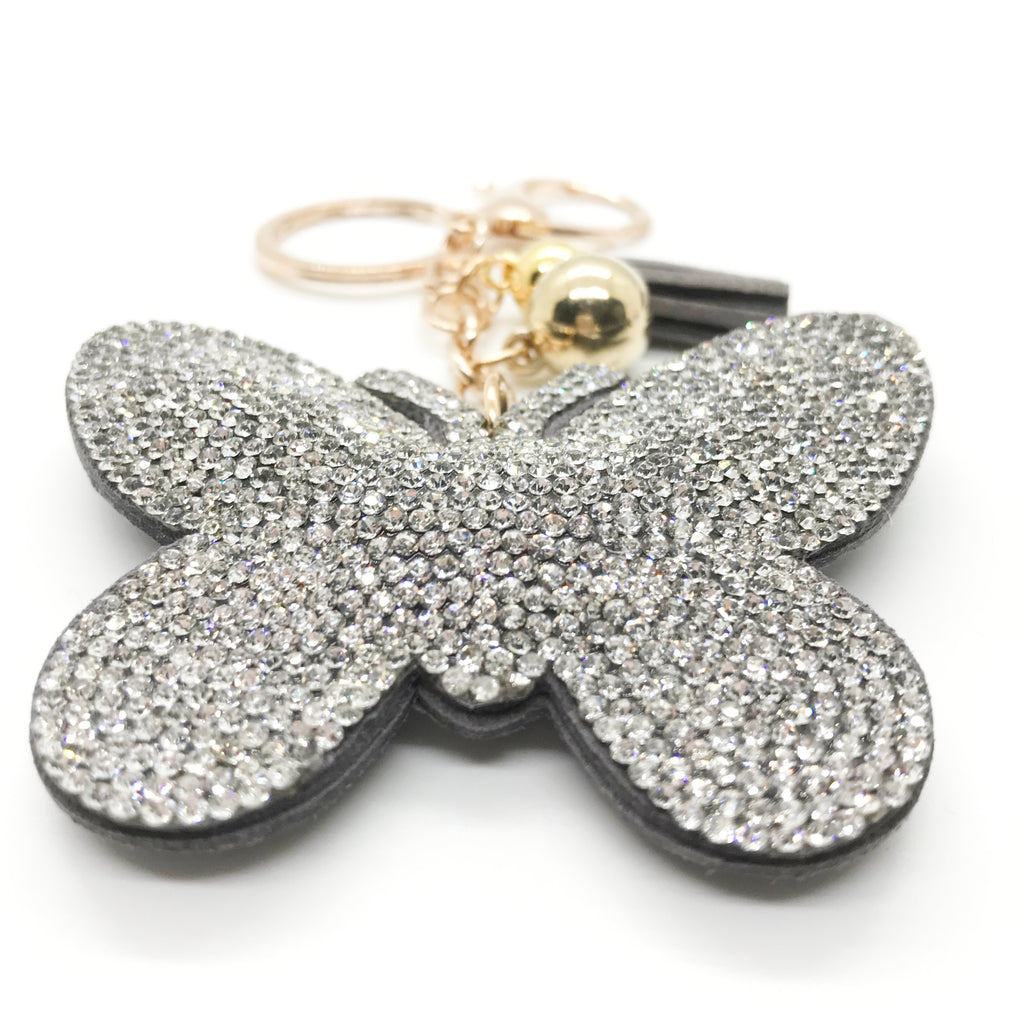 Bling Butterfly Keychain