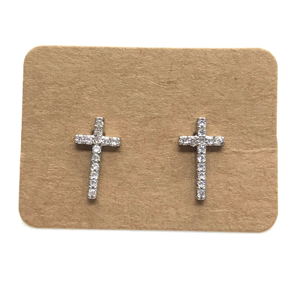 Bling Crosses-Silver