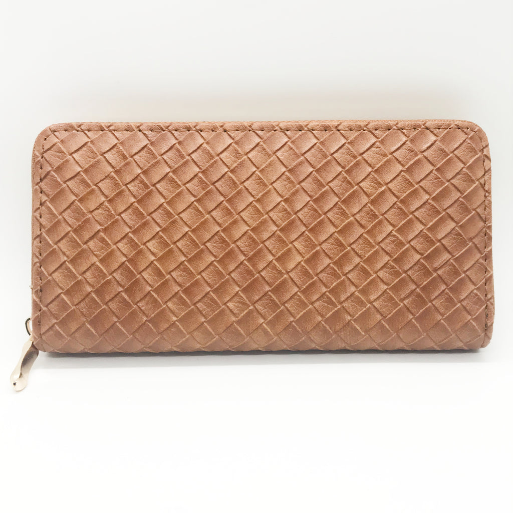 Criss Cross Pattern Wallet