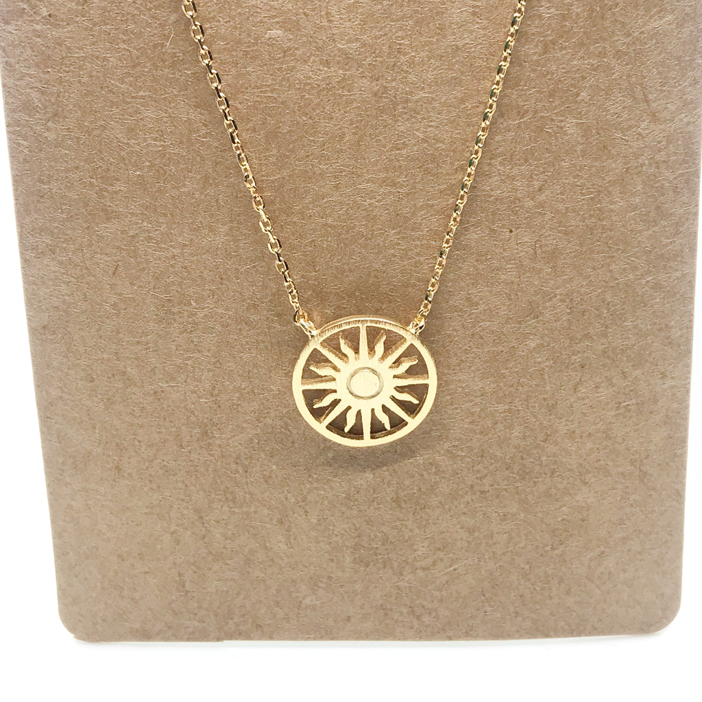 Sunshine Necklace-Gold