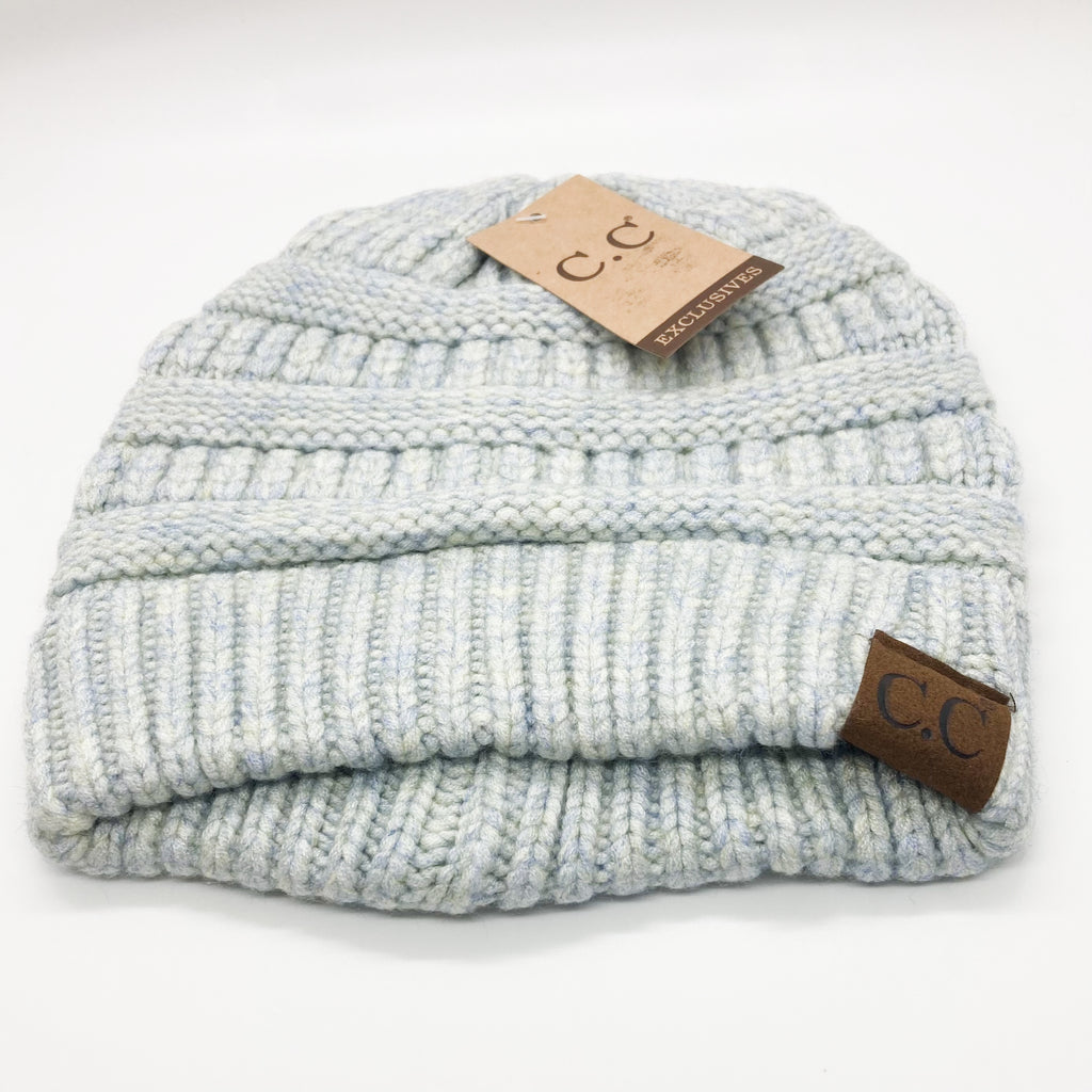 Basic Beanie-Icy Blue Green