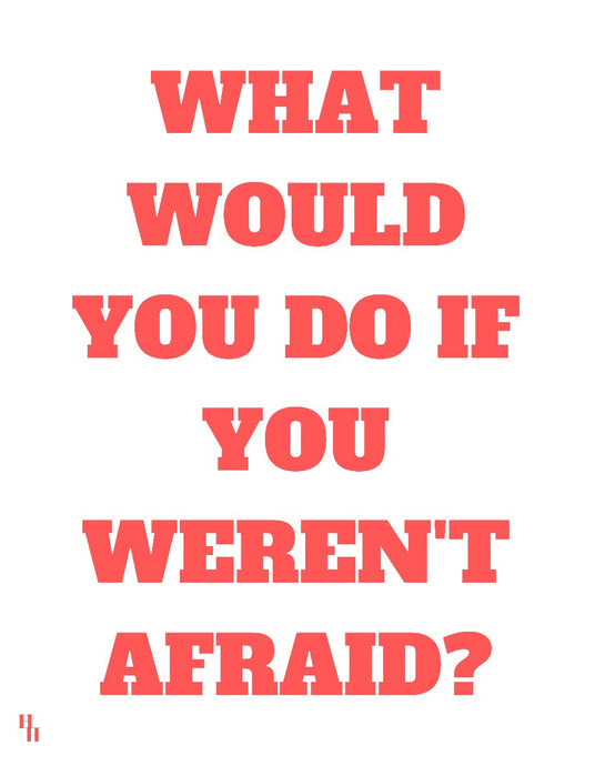 What Would You Do Poster