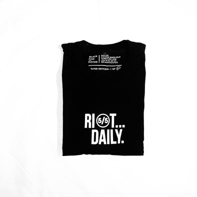 Riot Daily - t-shirt - unisex