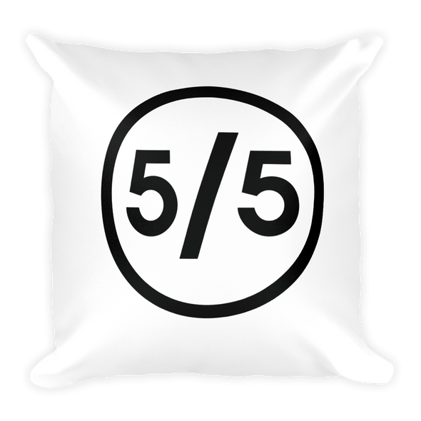 blackfivefifths - 5/5 Ring - pillow