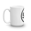 blackfivefifths - 5/5 Ring - mug