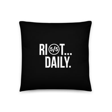 Riot Daily - pillow
