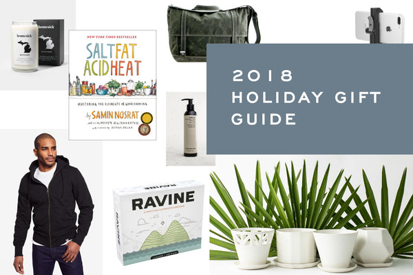 2018 Holiday Gift Guide by Corey Egan