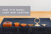 How It's Made : Lost Wax Casting Part 1 - Carving