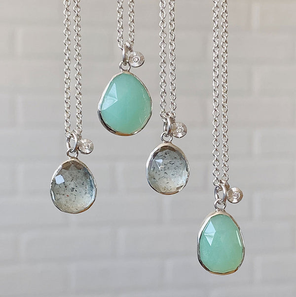 Spring Gemstone Drop