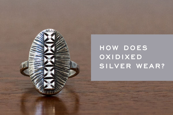How does Oxidized Silver Jewelry Wear? - Corey Egan