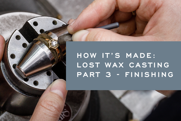 How It's Made: Lost Wax Casting Part 3 - Finishing