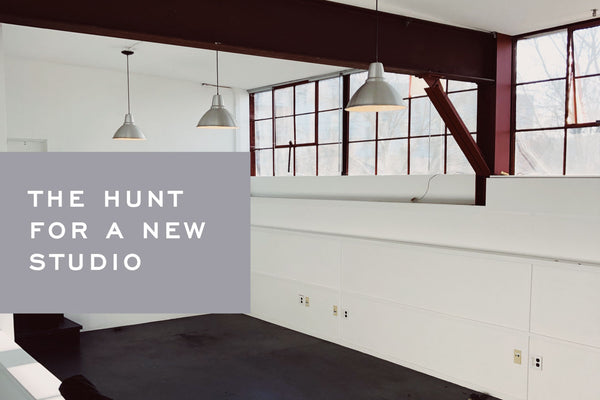 The Hunt for a New Studio