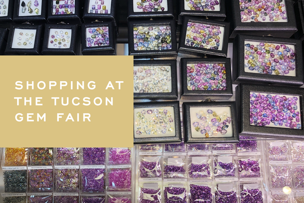 Shopping at the Tucson Gem Fair | Corey Egan