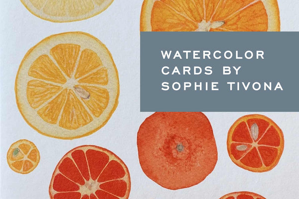 Introducing Watercolor Cards by Sophie Tivona