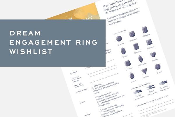 Dream Engagement Ring Wishlist by Corey Egan