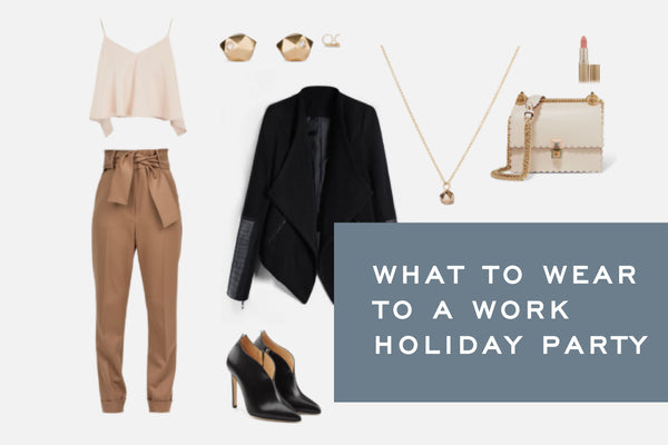 What to Wear to a Work Holiday Party