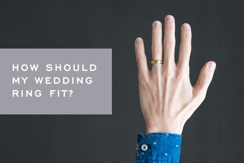 How Should My Wedding Ring Fit? [Video] – Corey Egan