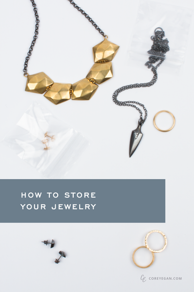Prevent tarnish, tangles, loss, and damage with these tips for storing your jewelry | How to Store Your Jewelry by Corey Egan