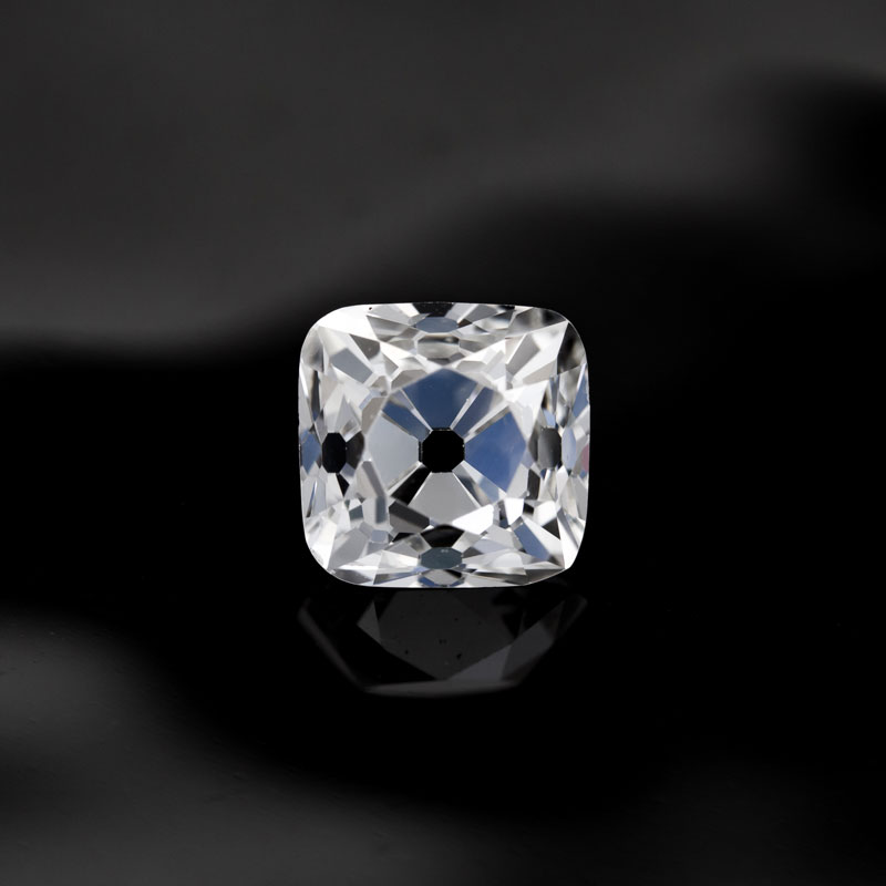 Antique Peruzzi Cut Diamond by Perpetuum Jewels