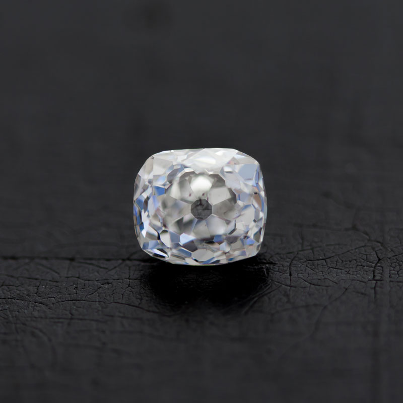 Old Mine Cut Diamond by Perpetuum Jewels