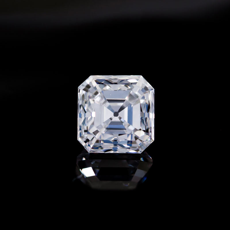 Post-Consumer Asscher Cut Diamond by Perpetuum Jewels