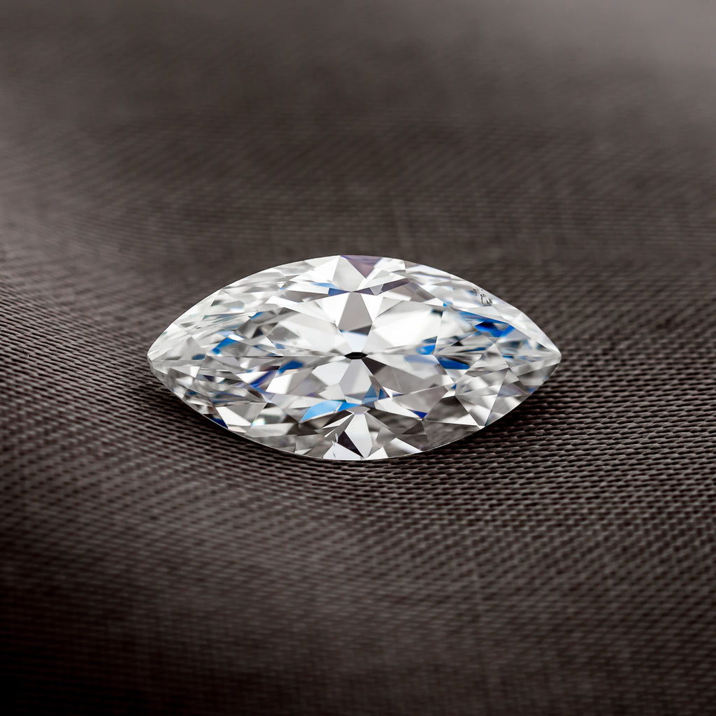 Post-Consumer Marquise Cut Diamond by Perpetuum Jewels