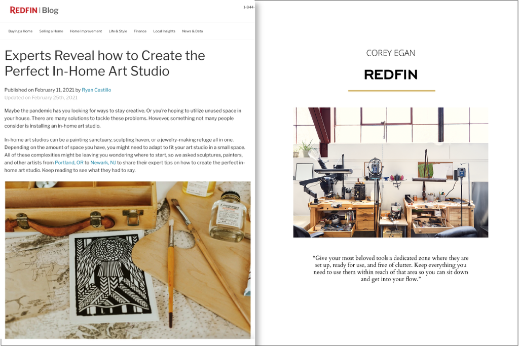 Experts reveal how to create the perfect at home studio on the Redfin Blog