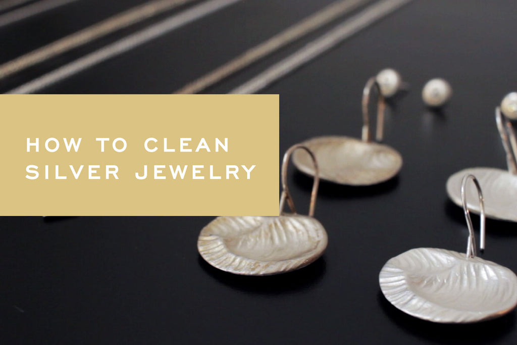 Video: How to remove tarnish from your sterling silver jewelry using common household items by Corey Egan