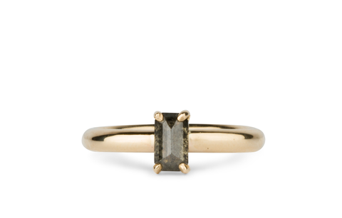 Prong Set Solitaire Ring by Corey Egan