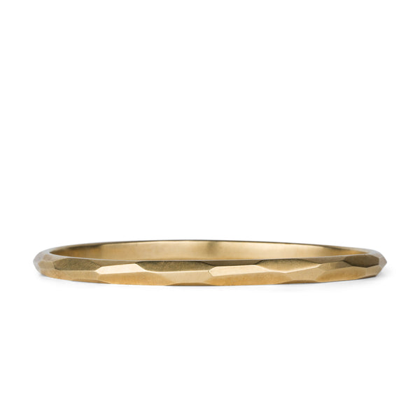 Bronze Thin Denali Bangle by Corey Egan