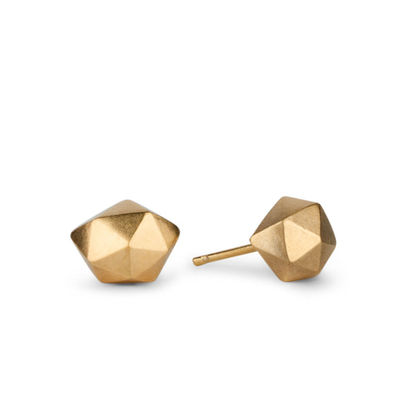 Tiny Fragment Vermeil Stud Earrings | Corey Egan