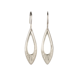 Silver Flux Earrings by Corey Egan
