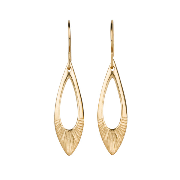 Flash Vermeil Earrings by Corey Egan