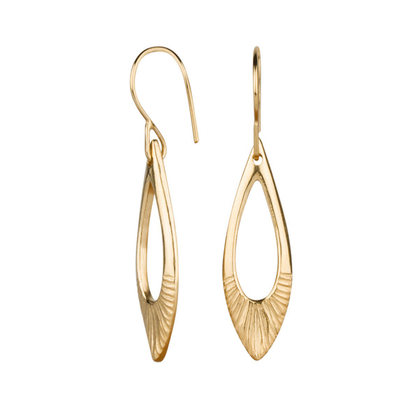 Flux Vermeil Earrings by Corey Egan