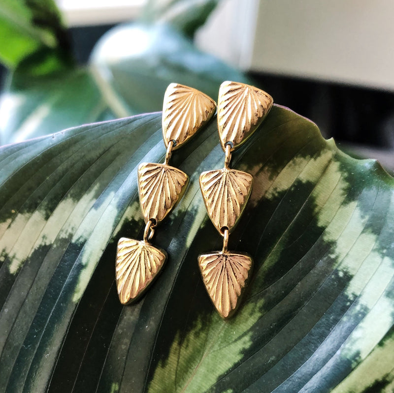 Flicker Vermeil Earrings
