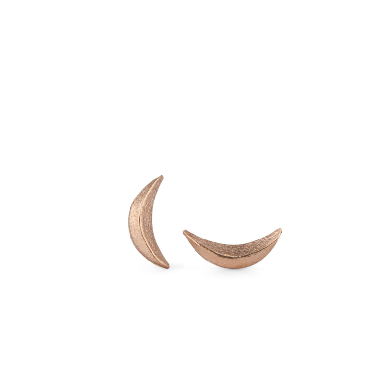 Wisp Rose Gold Studs by Corey Egan