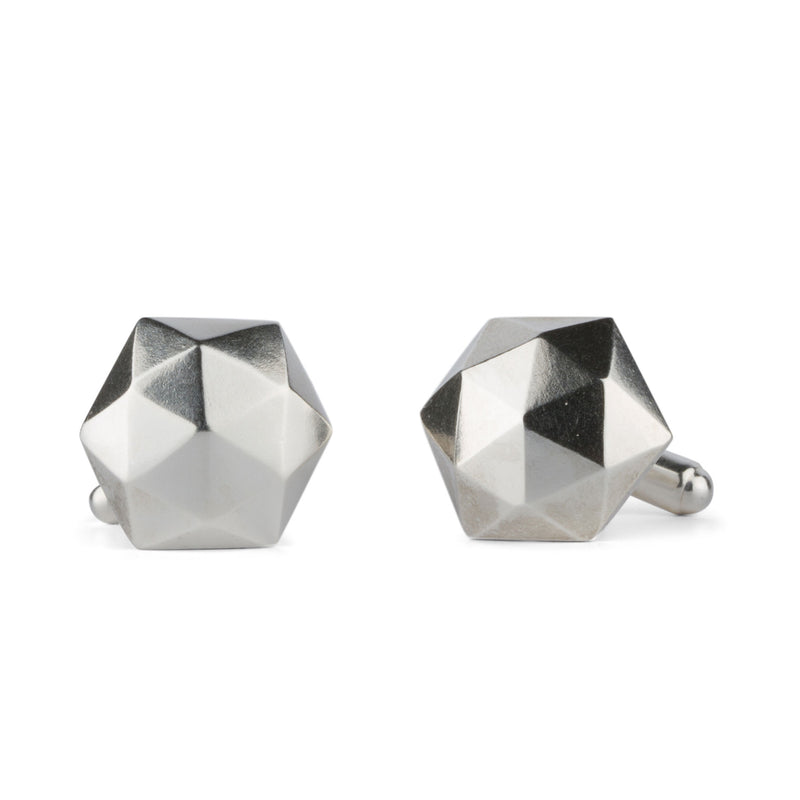 Sterling Silver Fragment Cufflinks by Corey Egan