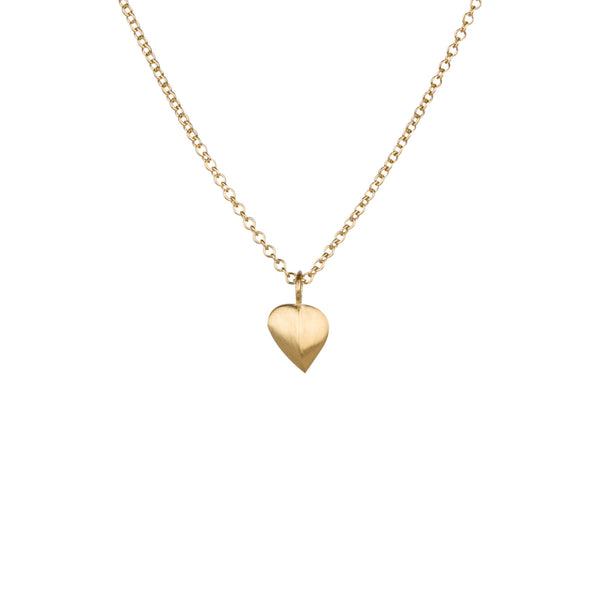 Aspen Leaf Vermeil Necklace by Corey Egan