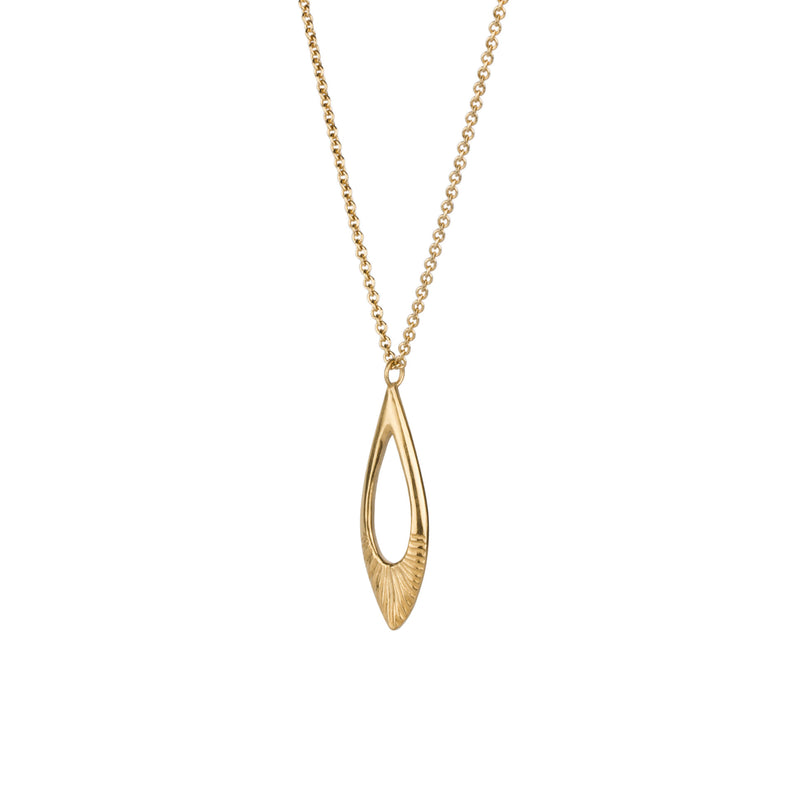 Flux Vermeil Necklace by Corey Egan