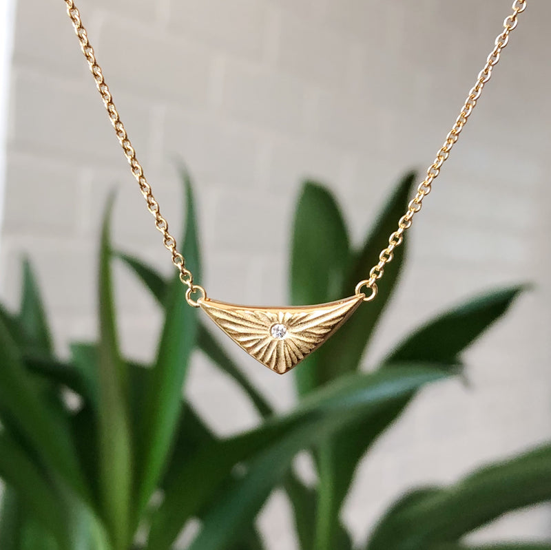 Flash Vermeil Necklace by Corey Egan