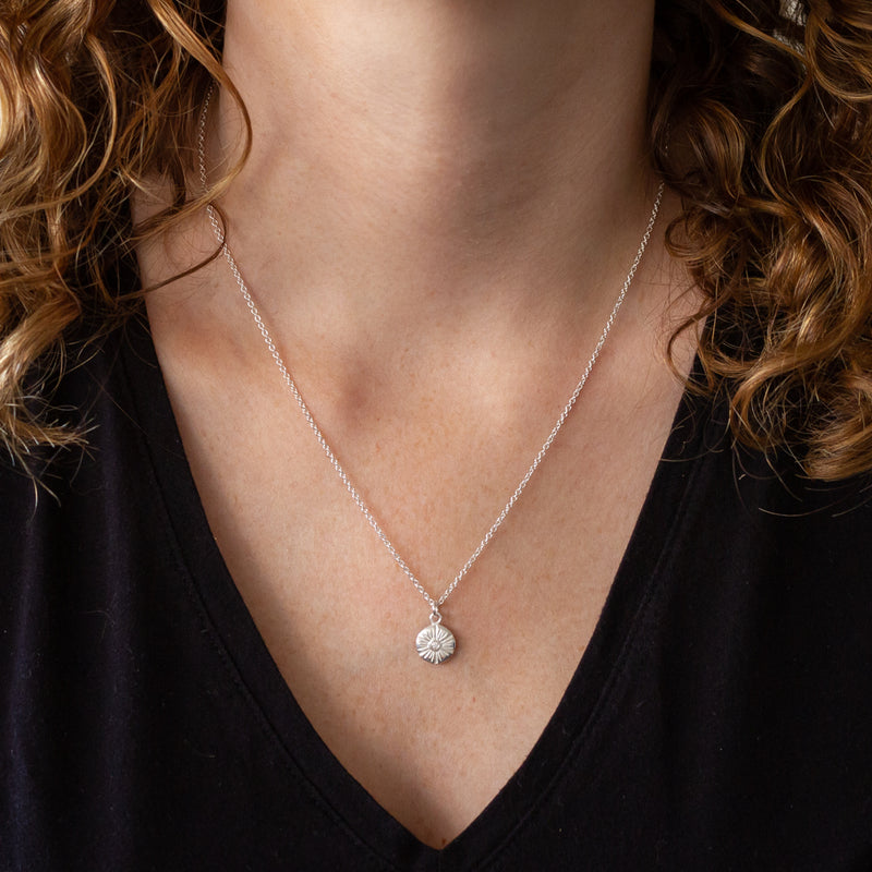 Medium Lucia Diamond Necklace | Corey Egan