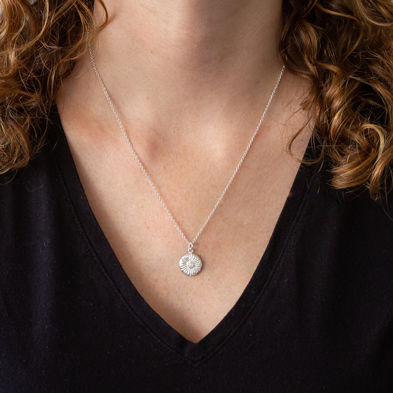 Large Lucia Diamond Necklace by Corey Egan