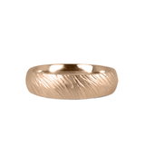 14k rose gold Mackinac Band by Corey Egan