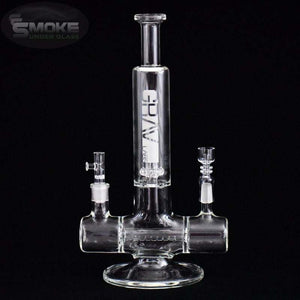 Grav Labs Dual Action Inline Water Pipe And Rig White
