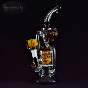 Empire Glassworks Beehive Escort Recycler Water Pipe