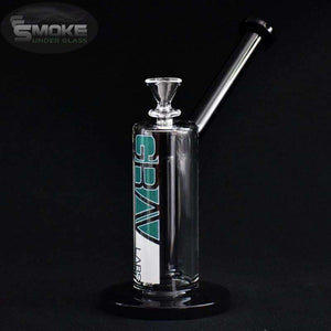 9 Grav Upright Bubbler Tungsten Showerhead Wblack Mouth Piece And Downstem