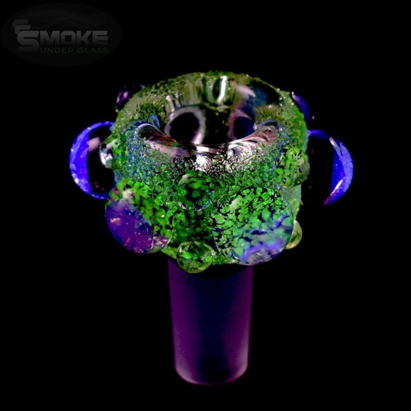 Empire Glassworks Cozmic Glow 14Mm Blacklight Reactive Bowl Bowl