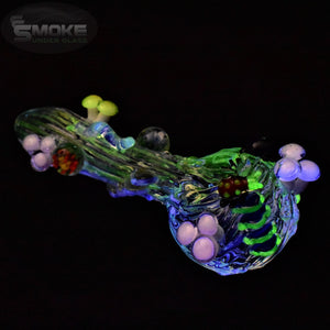 Empire Glassworks Cozmic Critters Hand Pipe