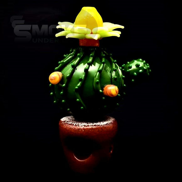 Flowering Cactus Pipe By Glassheads