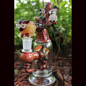 Empire Glassworks Hootie And Friends Mini Rig
